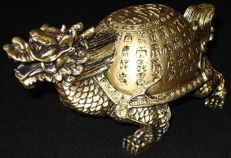 драконочерепаха фэн-шуй
