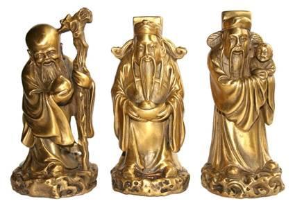 бронзовые статуэтки фэн-шуй